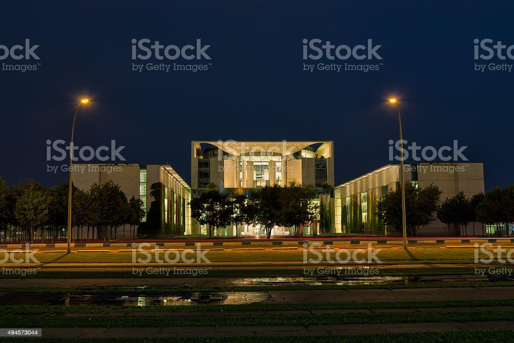 chancellery stock photo