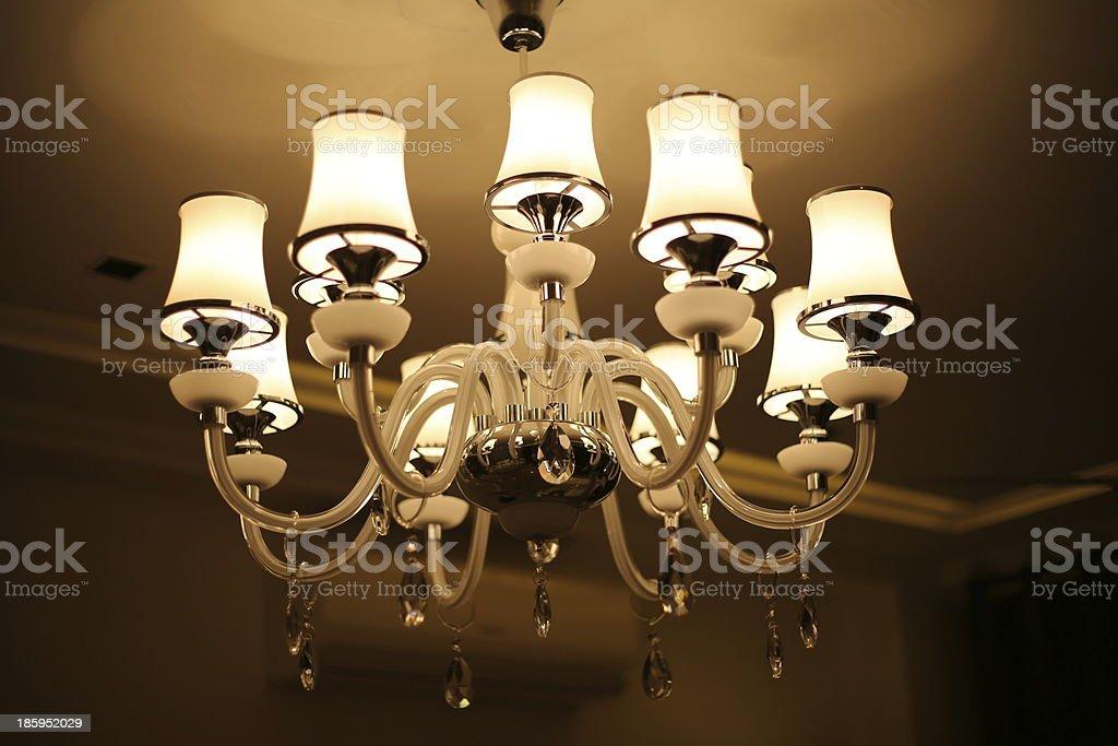 Chandalier Lamp royalty-free stock photo