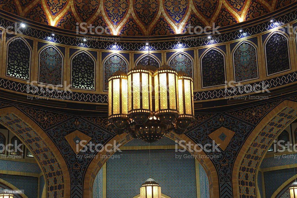 Chandalier royalty-free stock photo