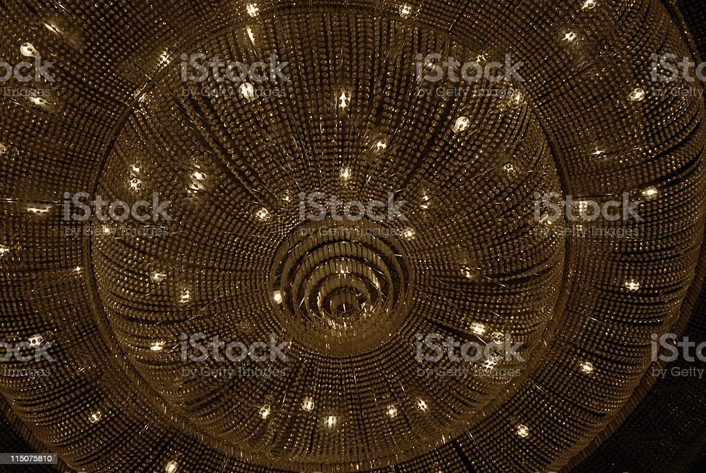 Chandelier Encounters royalty-free stock photo