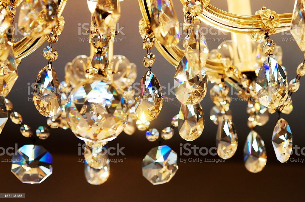 Chandelier royalty-free stock photo