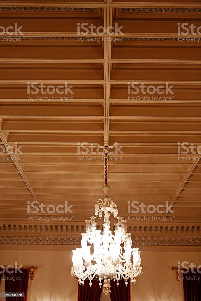 Chandelier stock photo