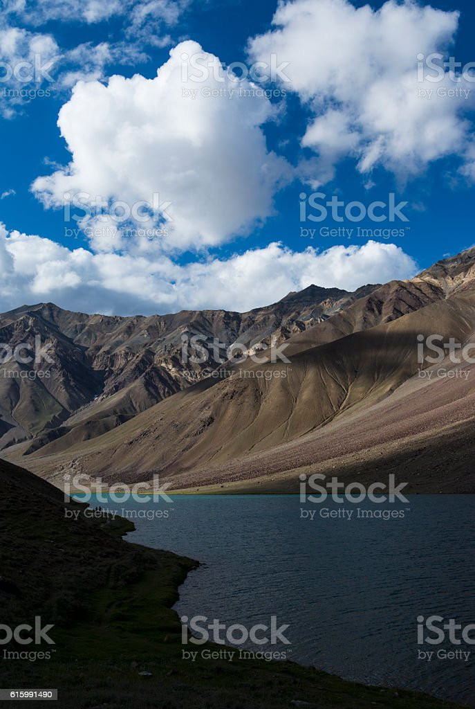Chandra Taal stock photo