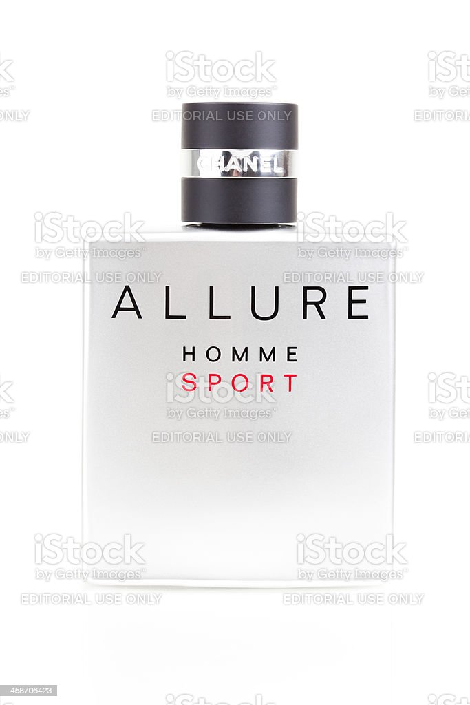 Chanel Allure Homme Sport stock photo