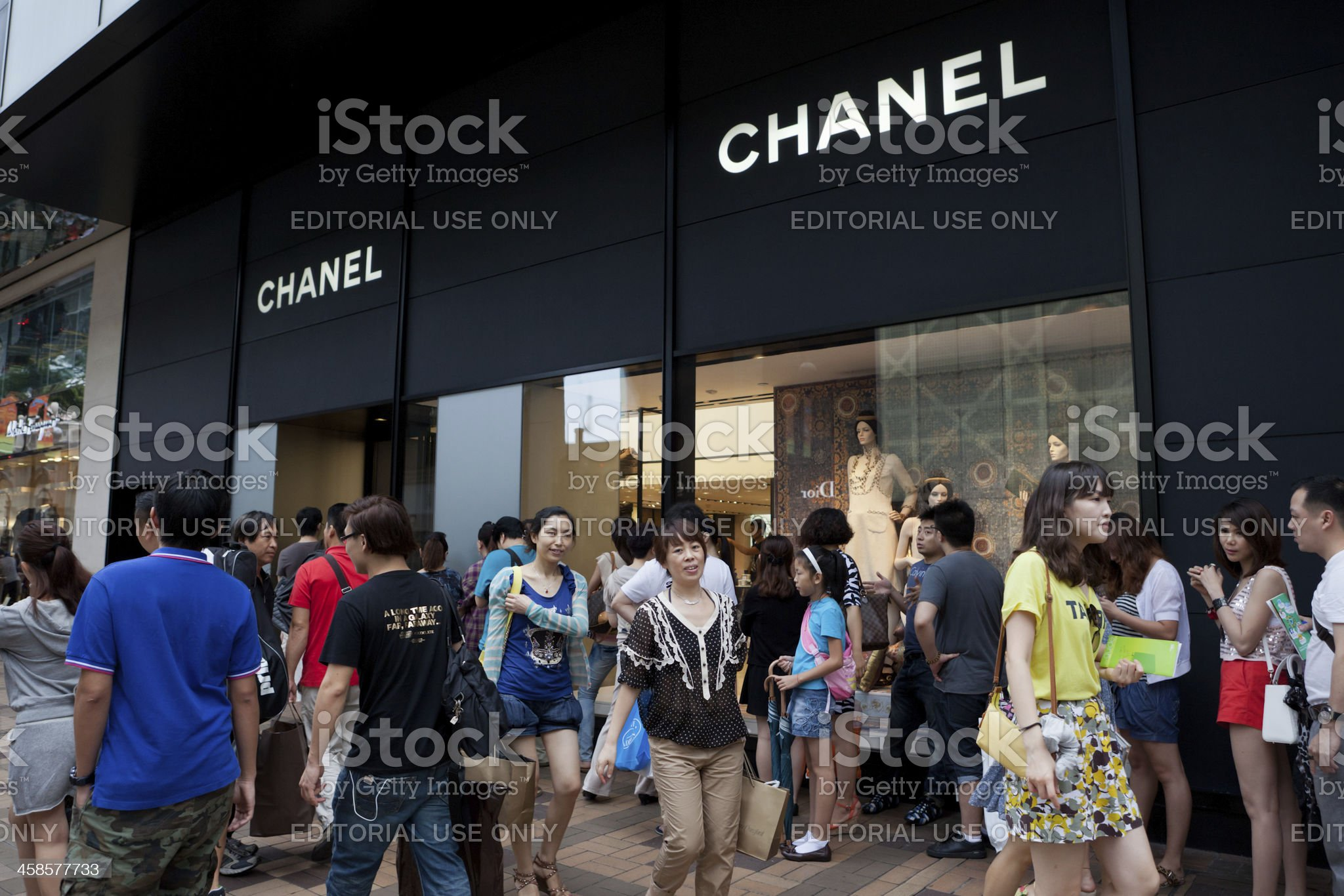 Chanel Boutique royalty-free stock photo