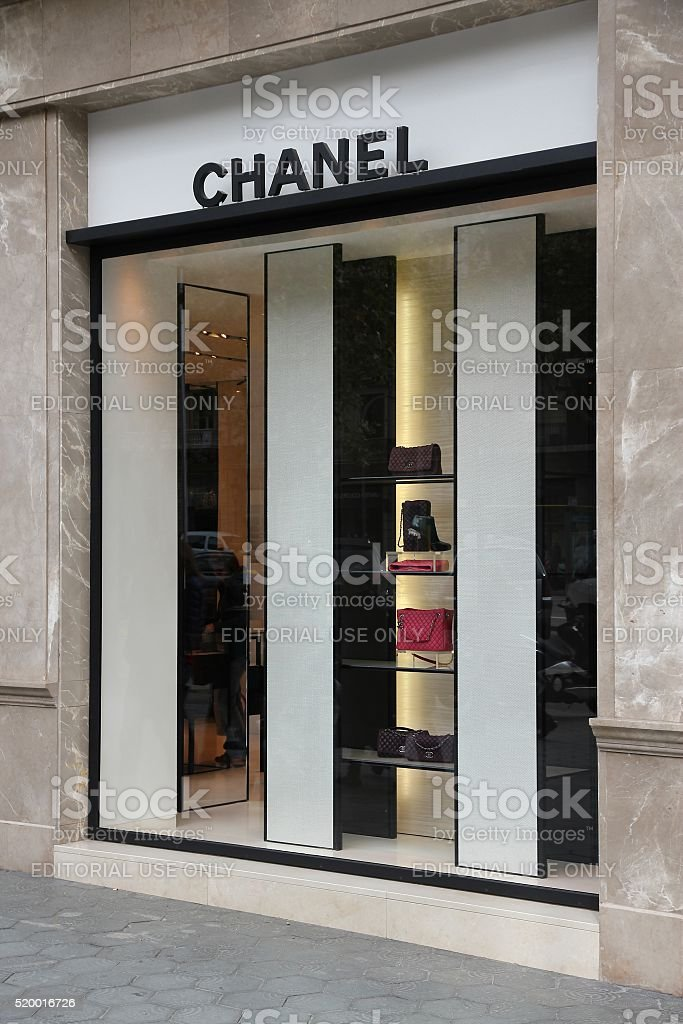 Chanel fashion company stock photo