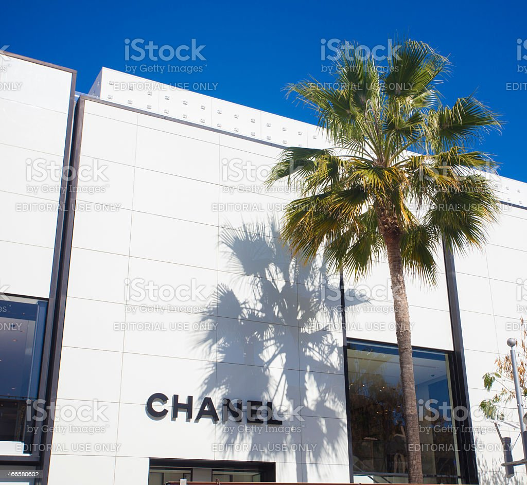 Chanel stock photo
