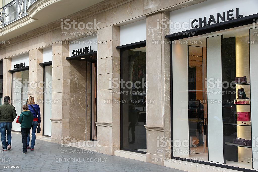 Chanel shop stock photo
