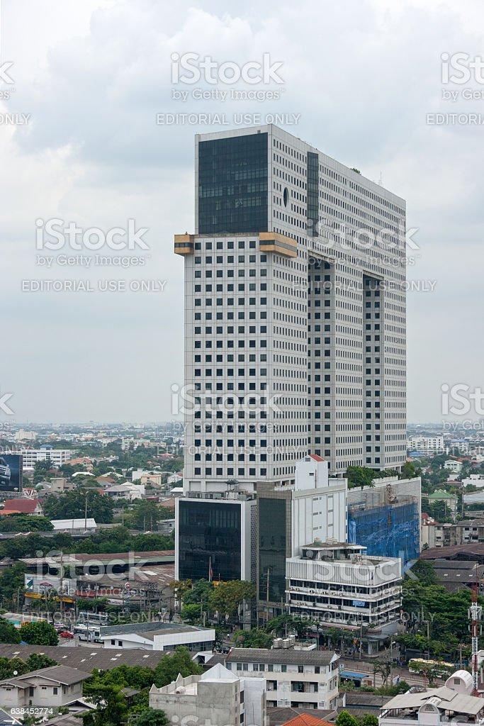 Chang Building in Bangkok stock photo