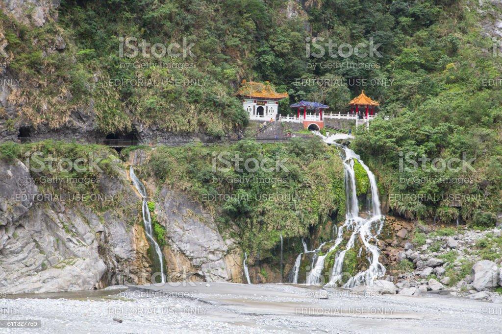 ช Changchunci shirine landmark of stock photo