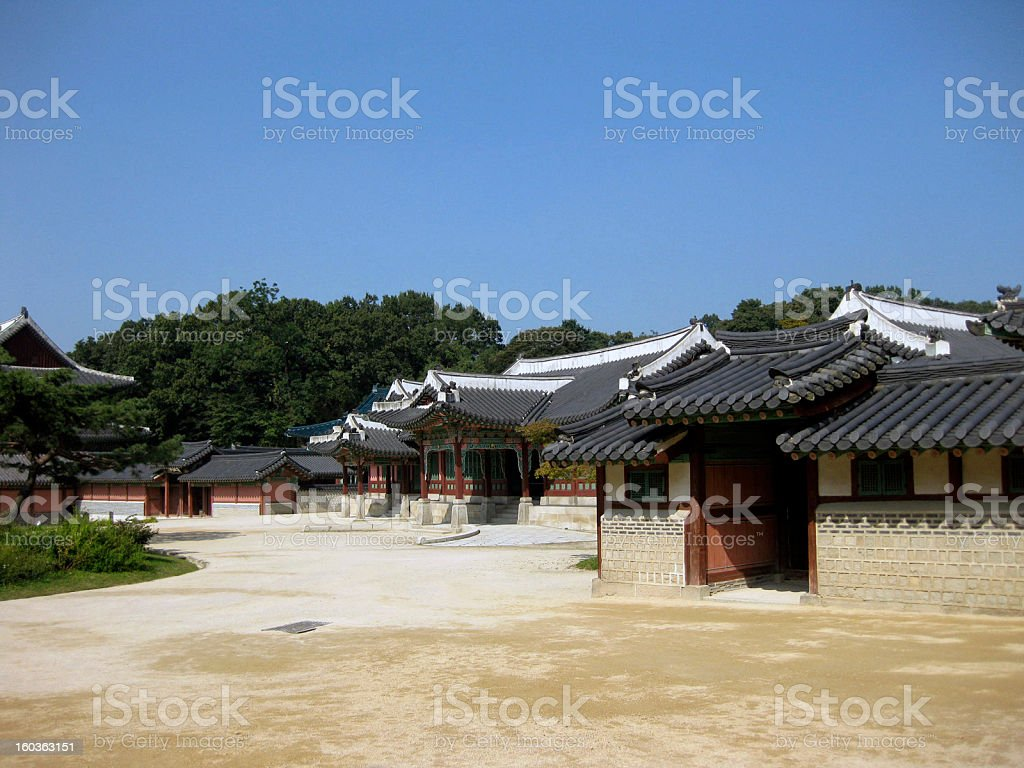 Changdeokgung Palace, Seoul stock photo