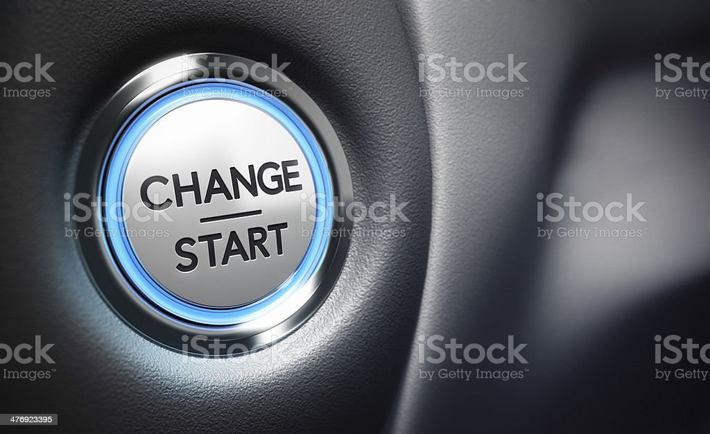 Change Decision Making Concept stock photo