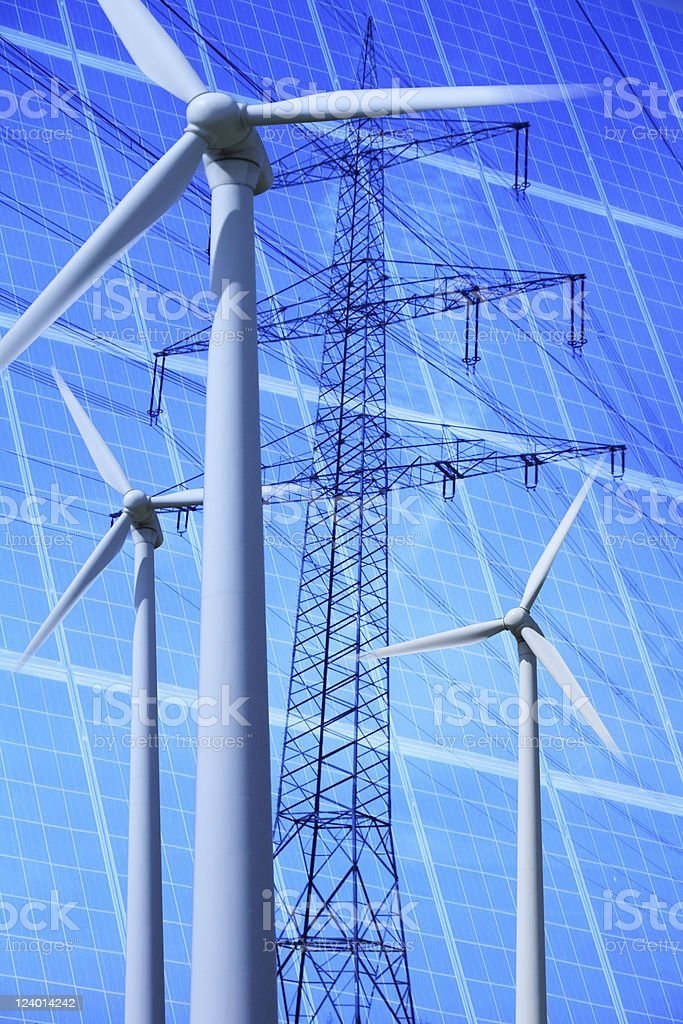 Change in Energy Policy stock photo