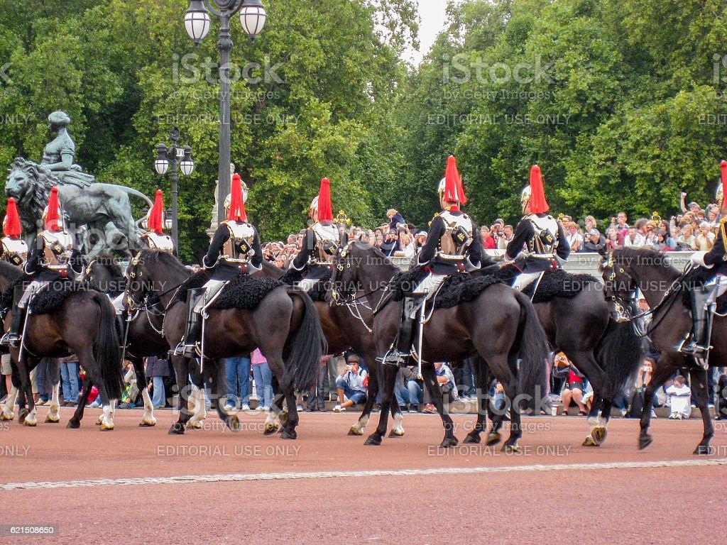 Change of Guards London England stock photo