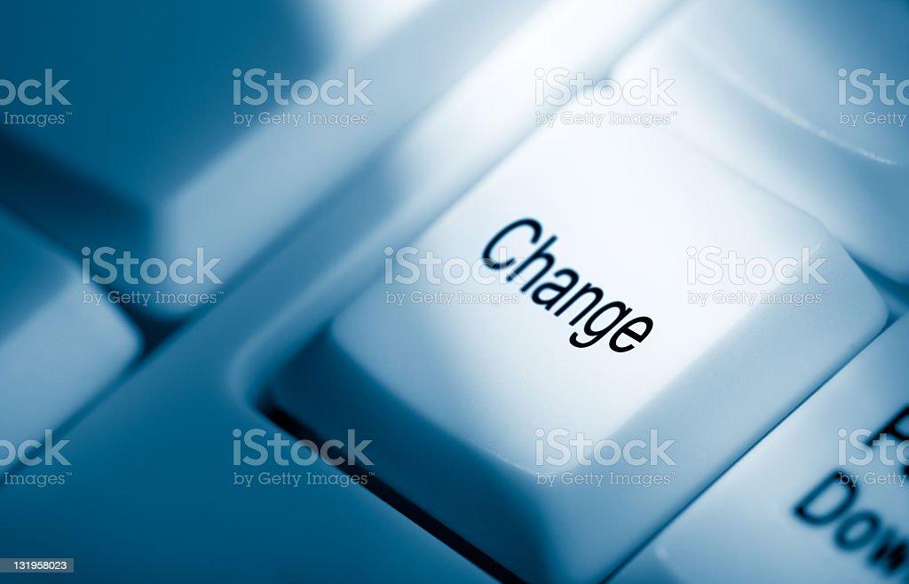 Change royalty-free stock photo