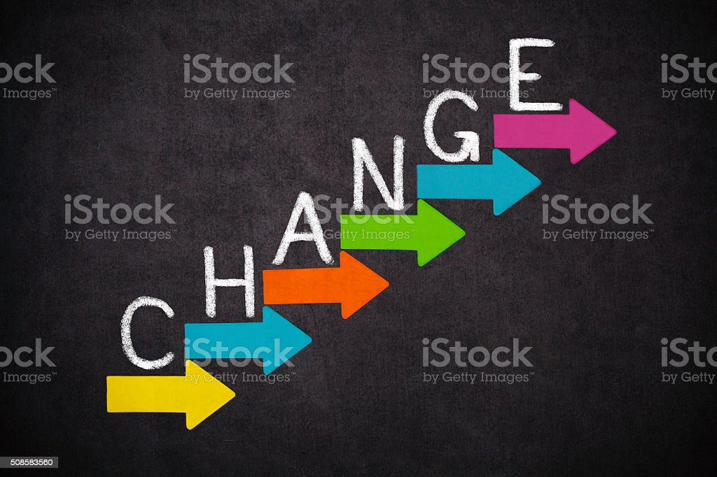Change stock photo
