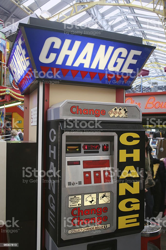 Change Point royalty-free stock photo