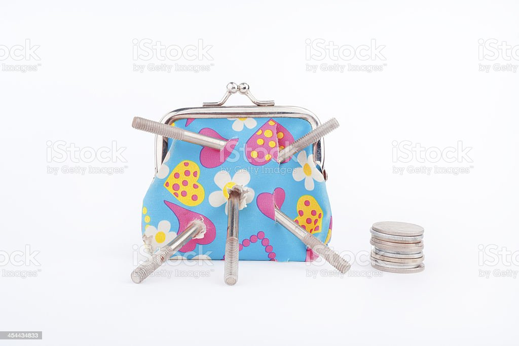 change purse royalty-free stock photo