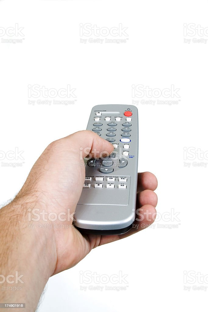 Change the channel royalty-free stock photo