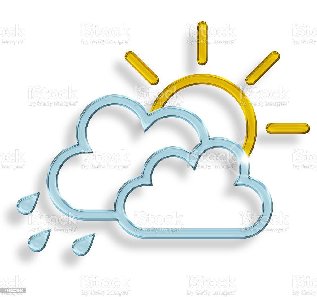 changeable weather stock photo