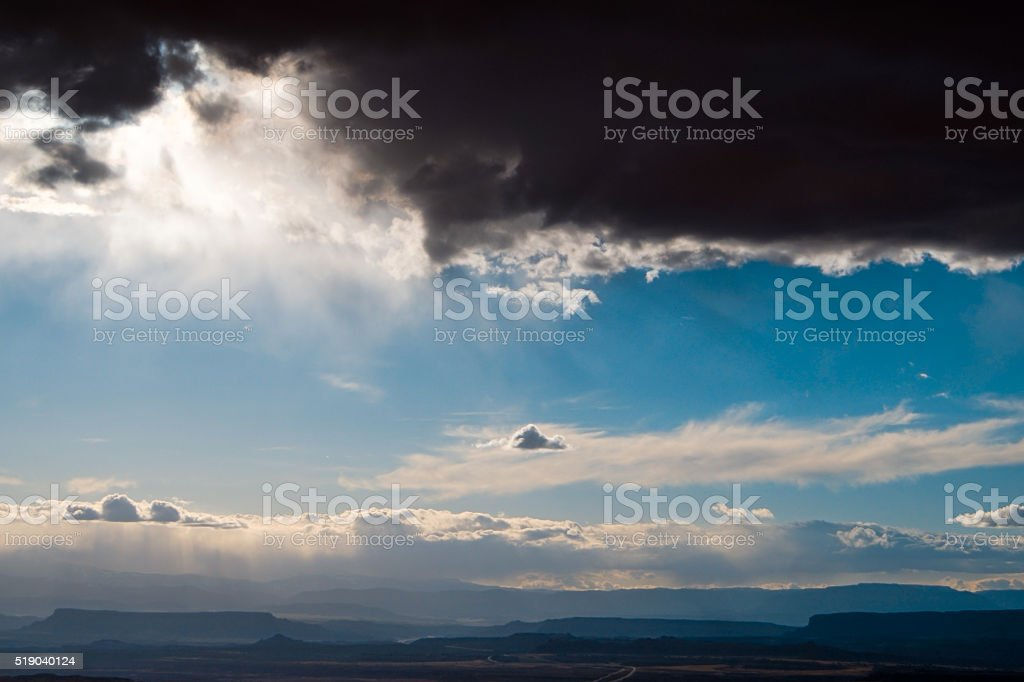 Changes in the Weather stock photo
