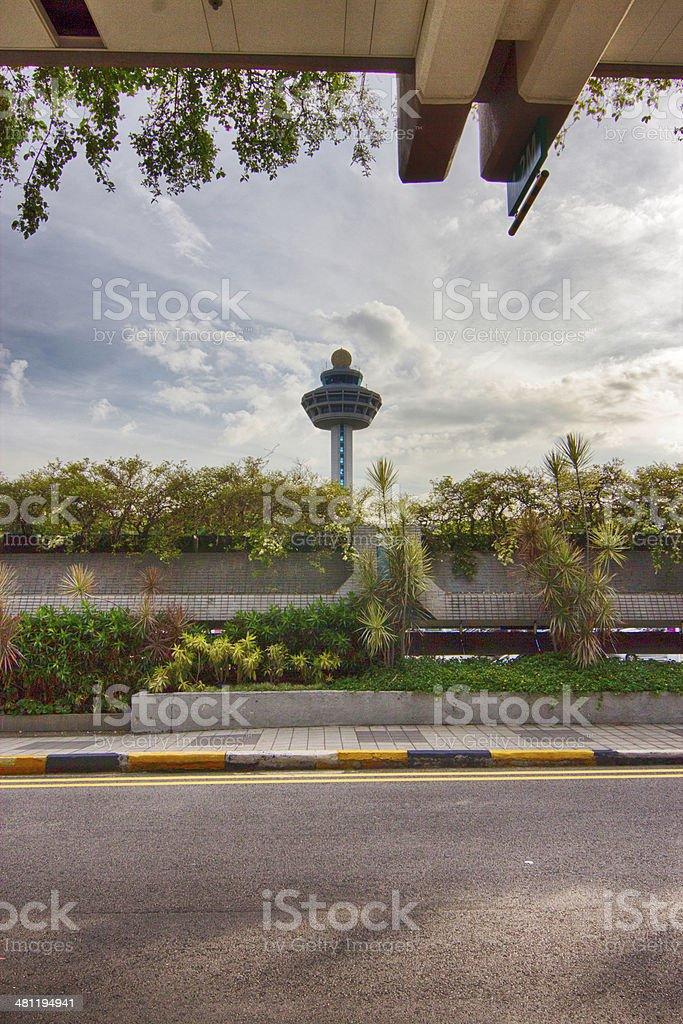 Changi Airport stock photo