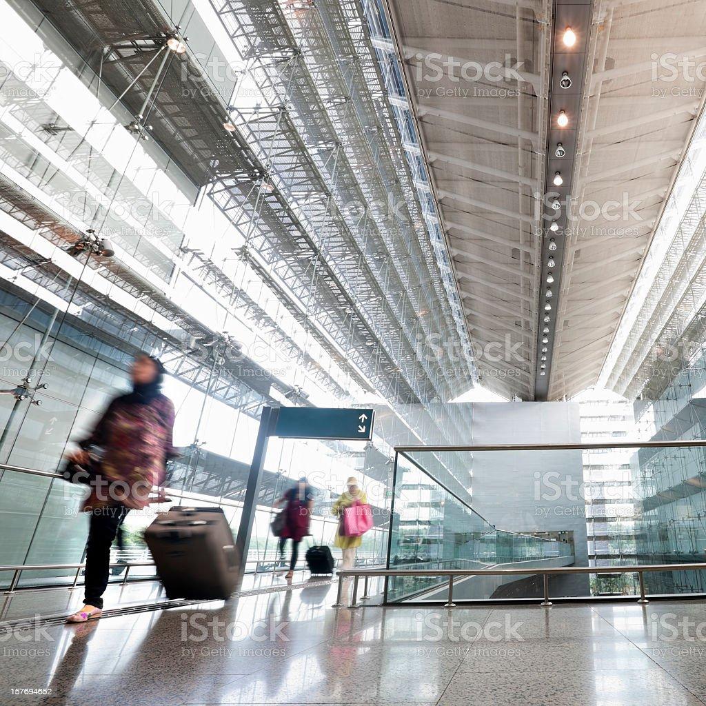 Changi Airport, Singapore. stock photo