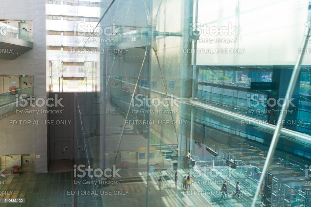 Changi Airport, Terminal 3, Singapore stock photo