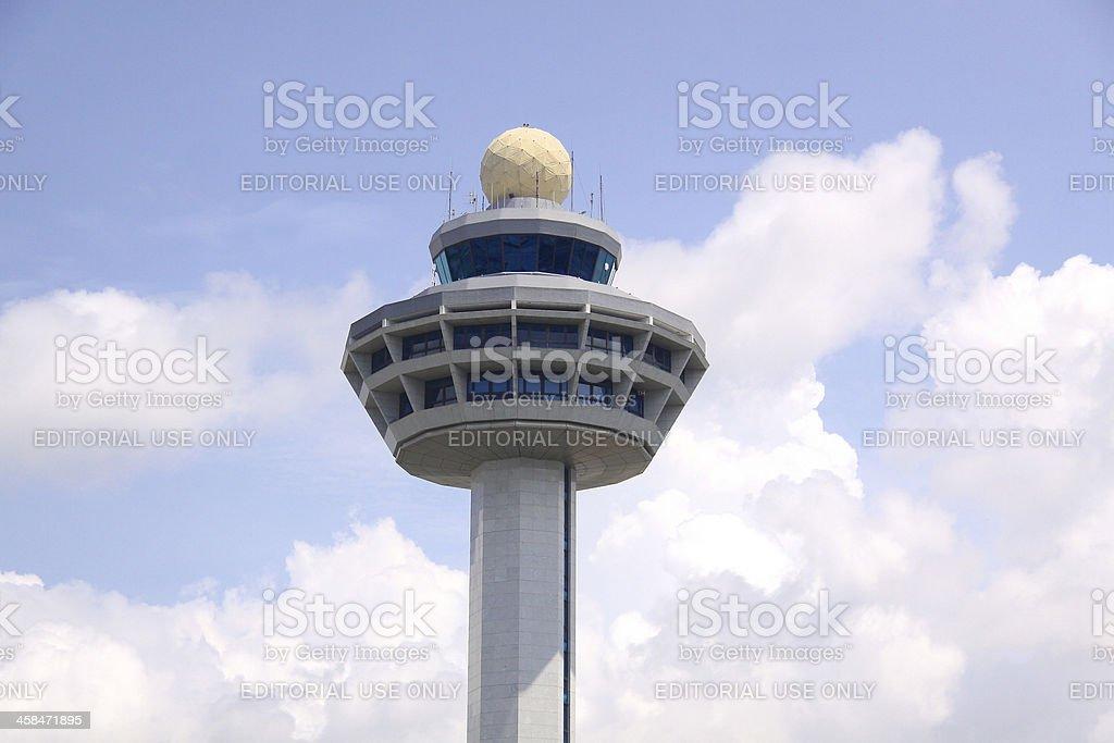 Changi International Airport stock photo