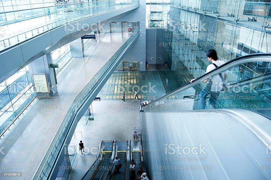 Changi International Airport royalty-free stock photo