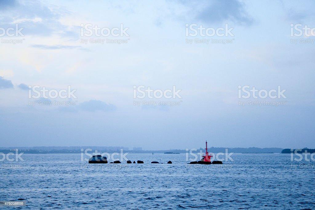 Changi Point Beach stock photo