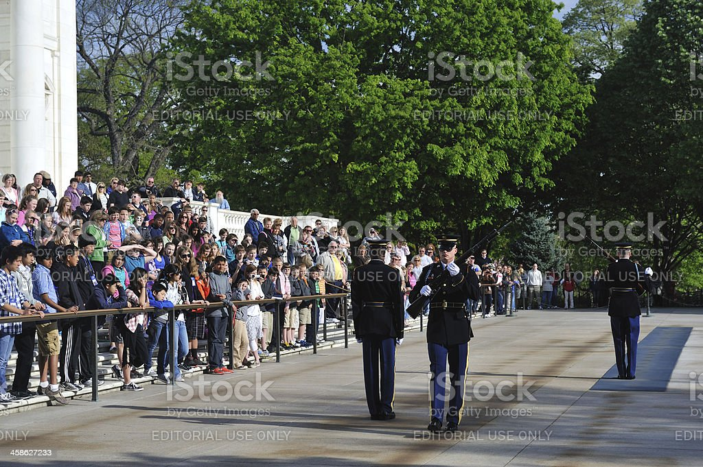 Changing of Guard Ceremony royalty-free stock photo