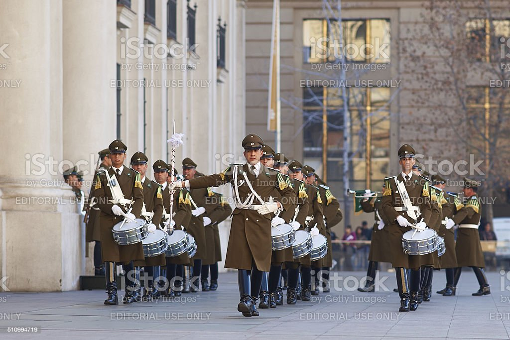 Changing of the Guard Ceremony stock photo