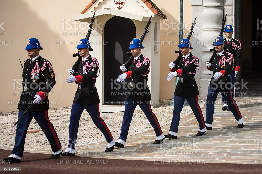 changing of the guards ceremony in monaco