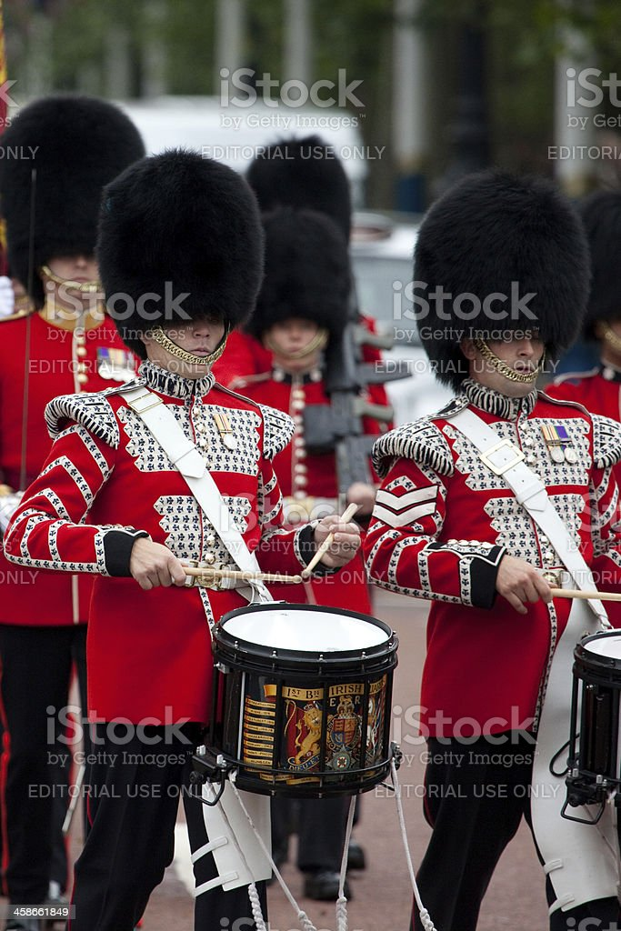 Changing of the Guards royalty-free stock photo