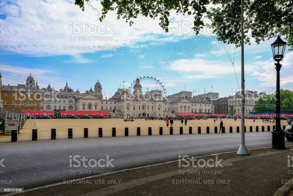 London, UK - May 11, 2017: Changing of the guards. stock photo