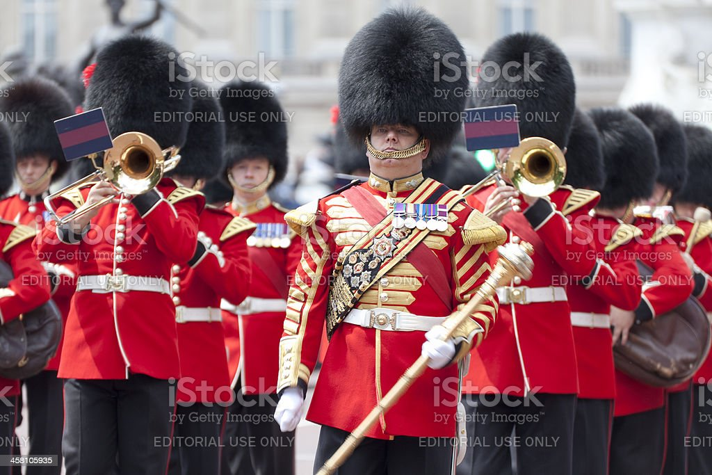 Changing of the Palace Guards royalty-free stock photo
