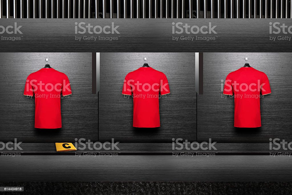 changing room stock photo