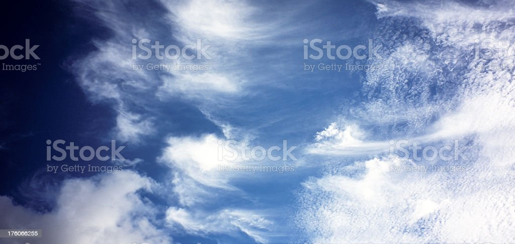 Changing Skies stock photo