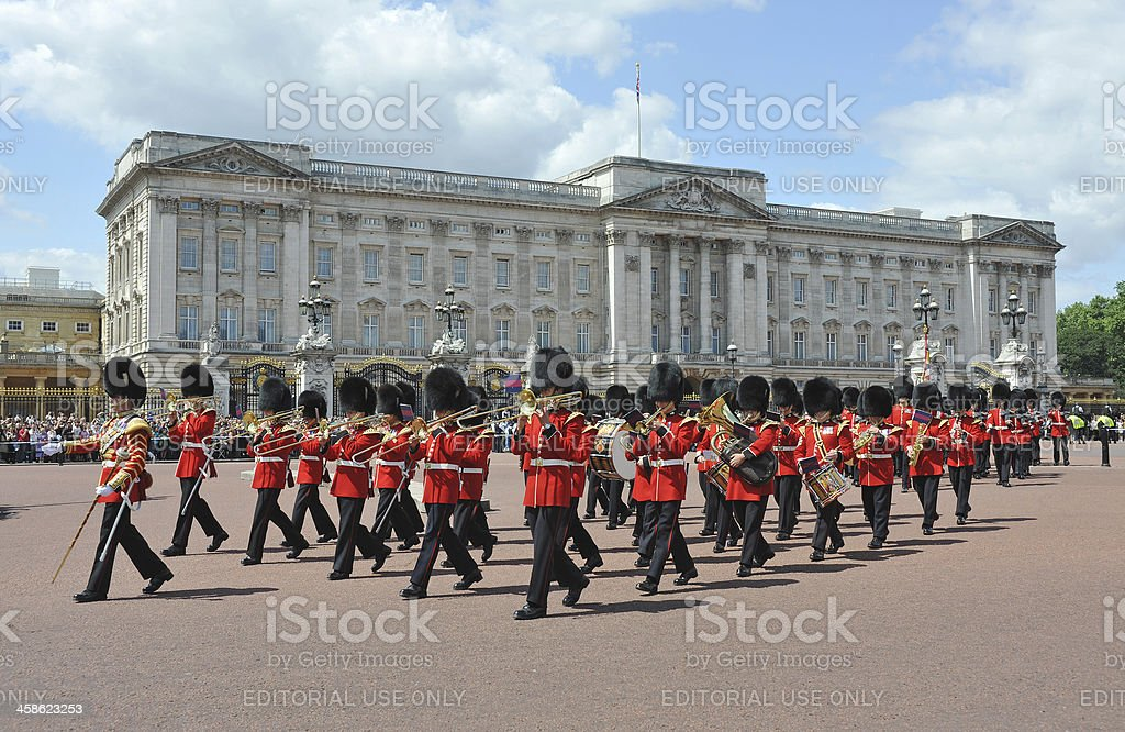 Changing the Guard stock photo