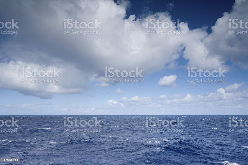 Changing weather royalty-free stock photo