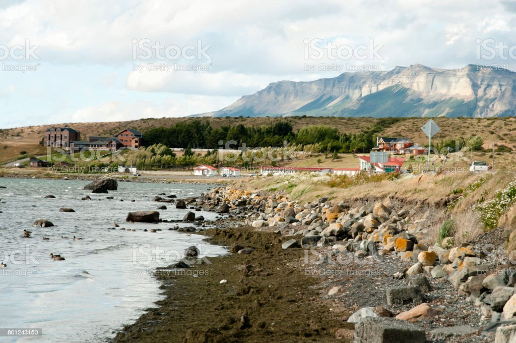Channel of Last Hope - Puerto Natales - Chile stock photo