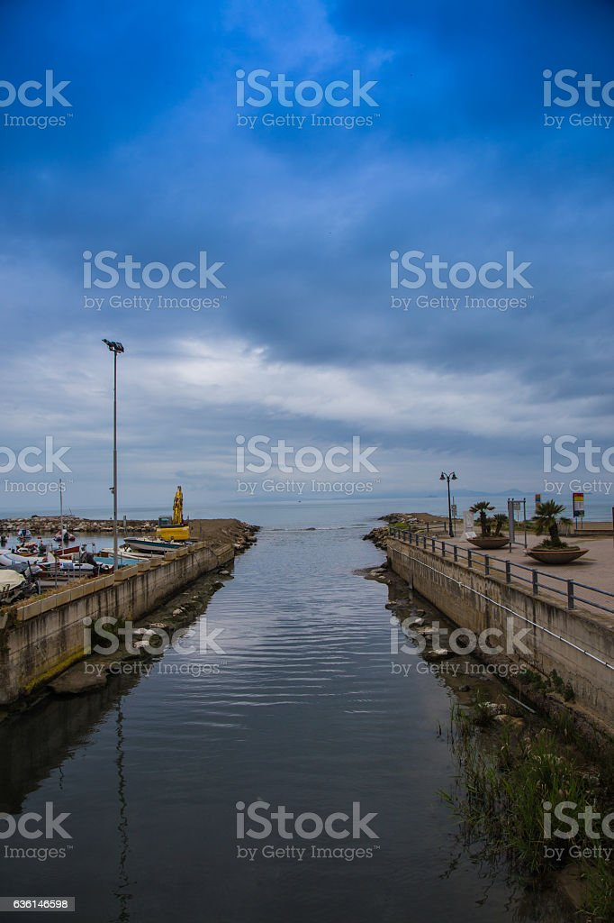 Channel stock photo