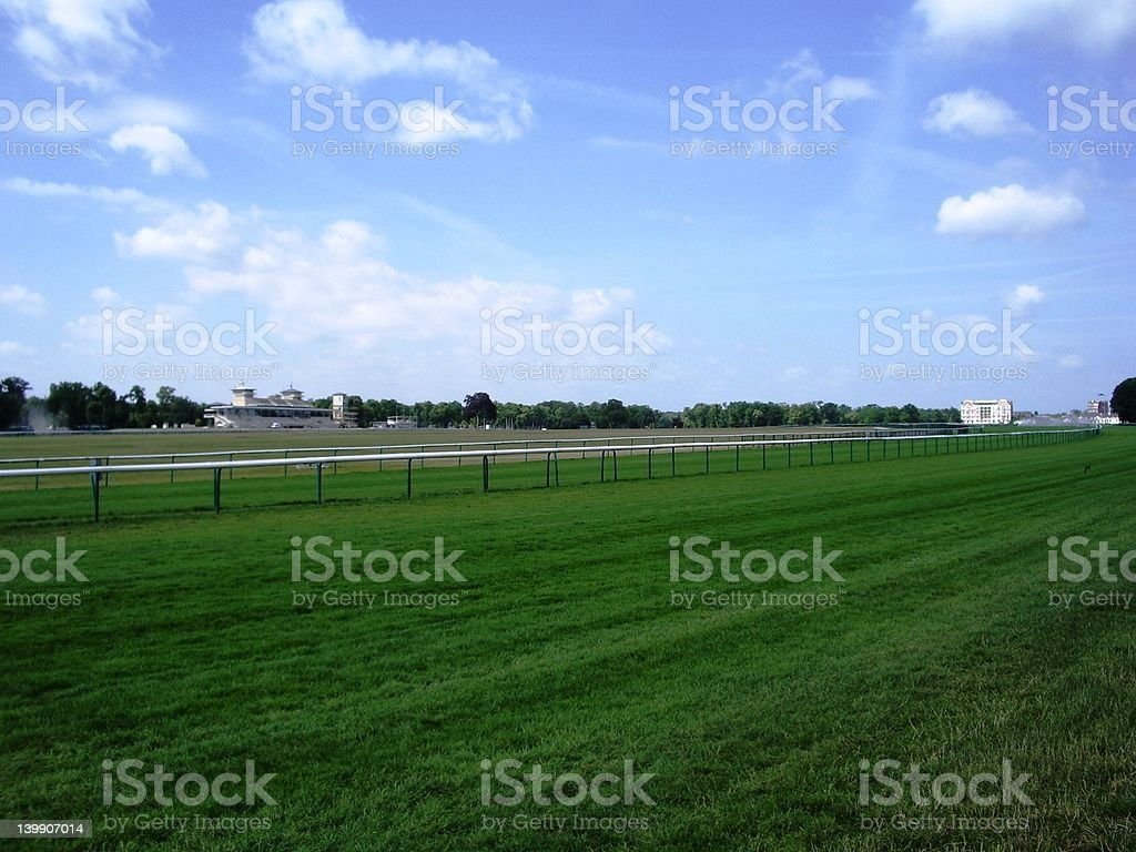 Chantilly Straight royalty-free stock photo