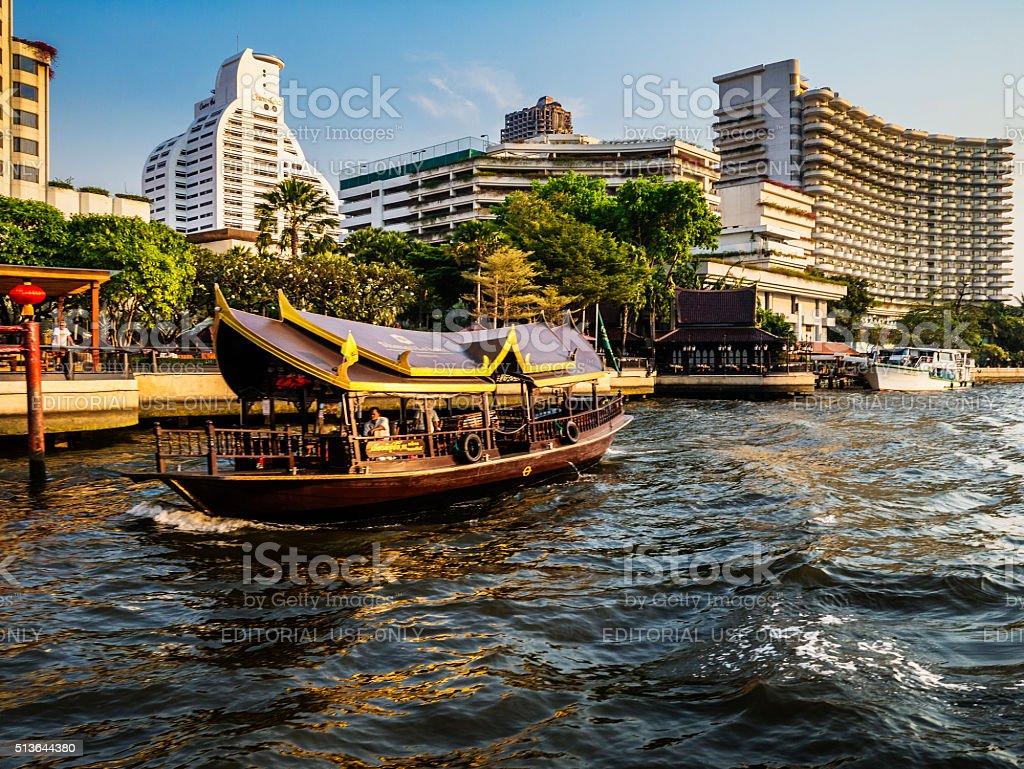 Chao Phraya river Bangkok Thailand stock photo
