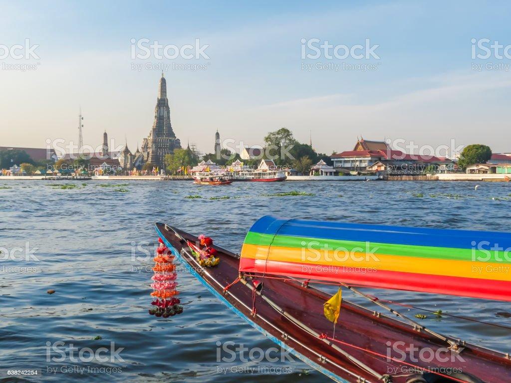 Chao Phraya River, Bangkok, Thailand stock photo