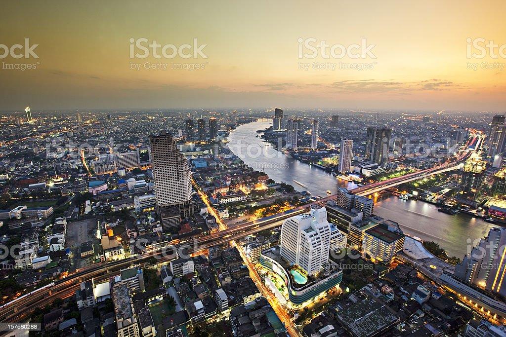 Chao Phraya River royalty-free stock photo