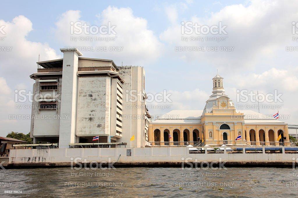 Chao Phraya river stock photo