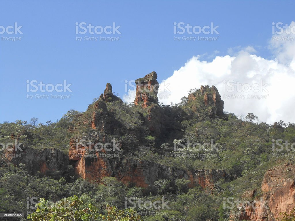 Chapada dos Guimaraes national park stock photo