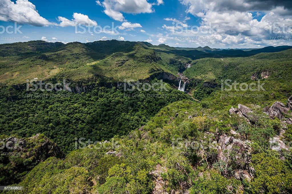 Chapada dos Veadeiros, Goias, Brazil stock photo